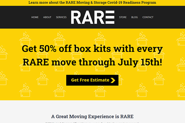 Rare Moving & Storage